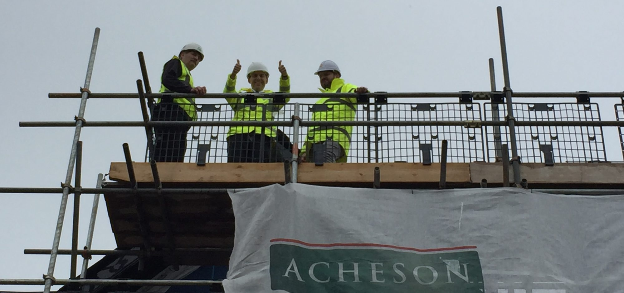 Our Wilton Trust Tops Out!